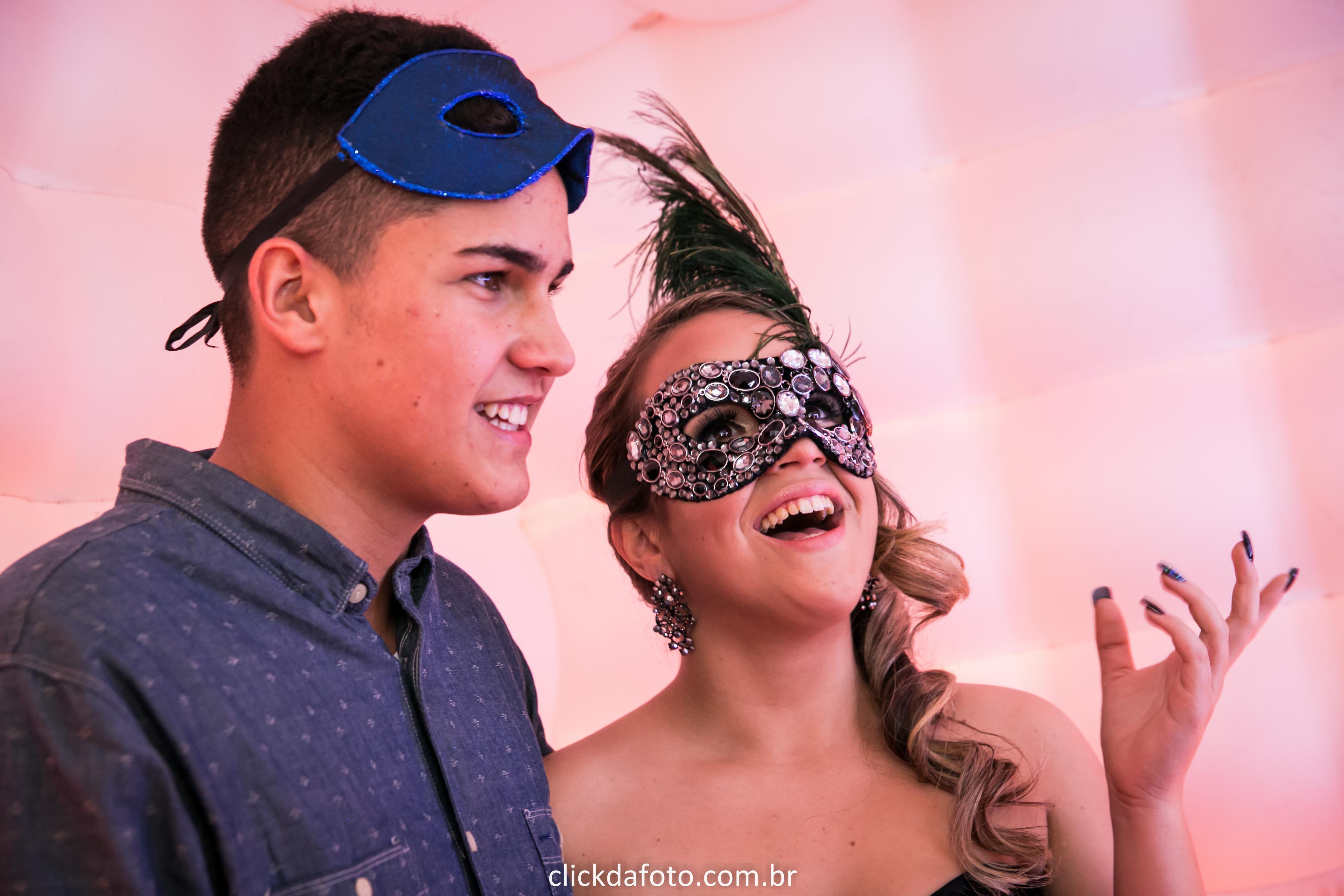 Baile de Máscaras festa 15 anos