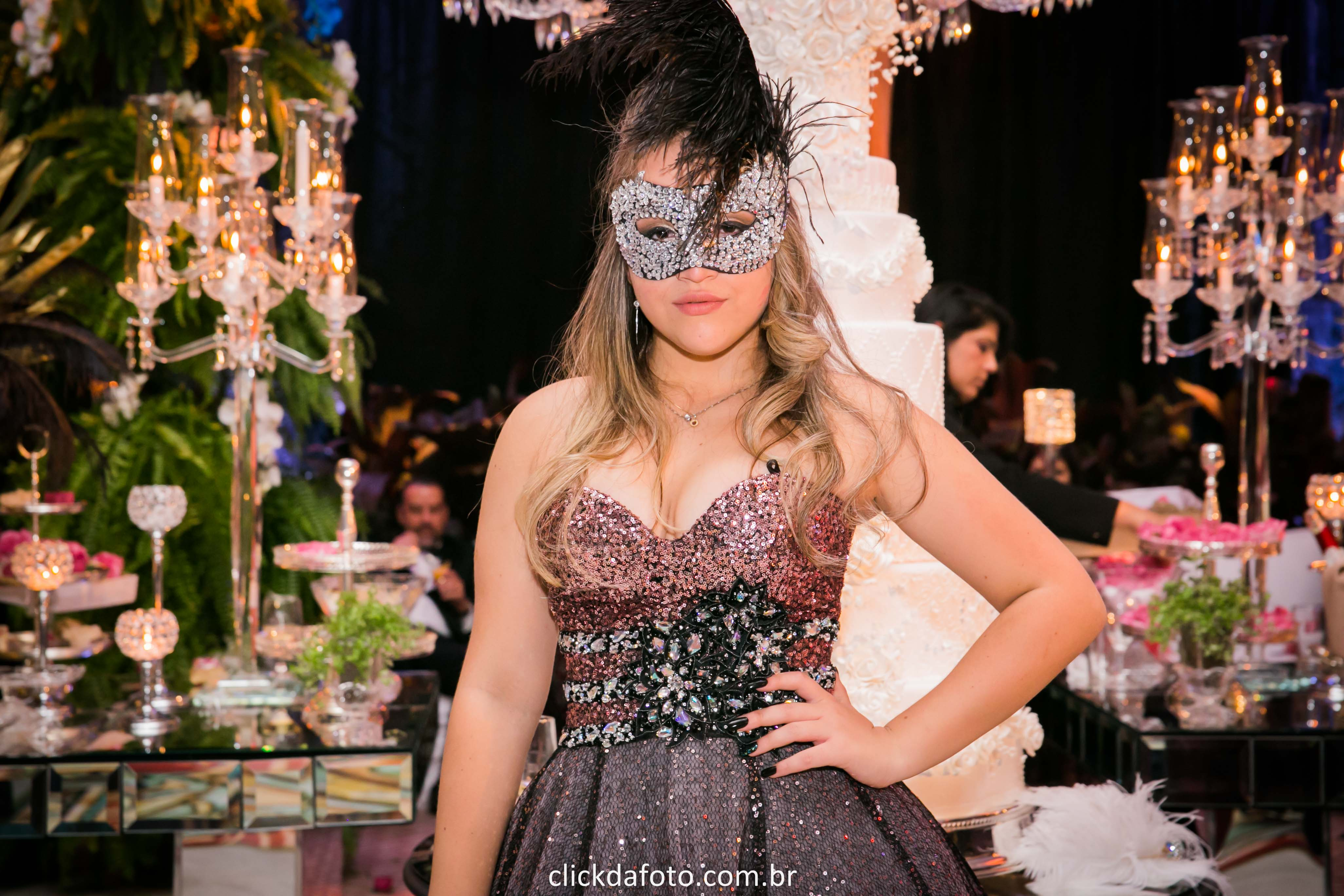 Baile De Máscaras Para Festa De 15 Anos Blog Click Da Foto